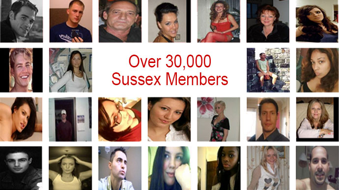 Over 30,000 Sussex Singles